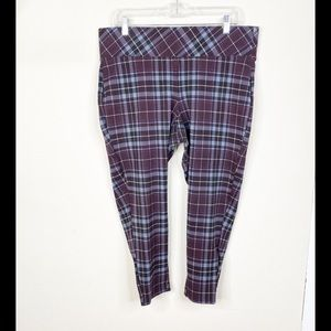 Torrid Nighter Ponte Leg Capri Cropped Pants 1X